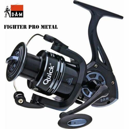 DAM QUICK  FIGHTER PRO METAL FD fishing  reel  320 FD Front Drag