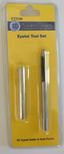 Œillets Setting Tool /& Hole Punch-Boutons Galore