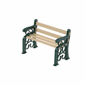 Détails sur 1:12 banc en bois métal maison de poupées miniature meubles de jardin Accessoires L afficher le titre d'origine