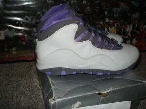 online store 60029 930f2 Details about 2005 Nike Air jordan 10 x Retro Women's size 12/10.5 men's  Violet/Purple xi iv X
