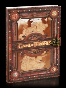 Large Game of Thrones Notebook - Seven Kingdoms - Westeros Card Diary