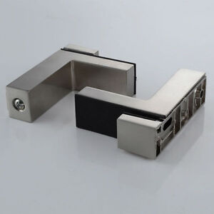 Details about Shelf Brackets For Acrylic,Wood and Glass Shelves Hold up to  20mm Mirror finish