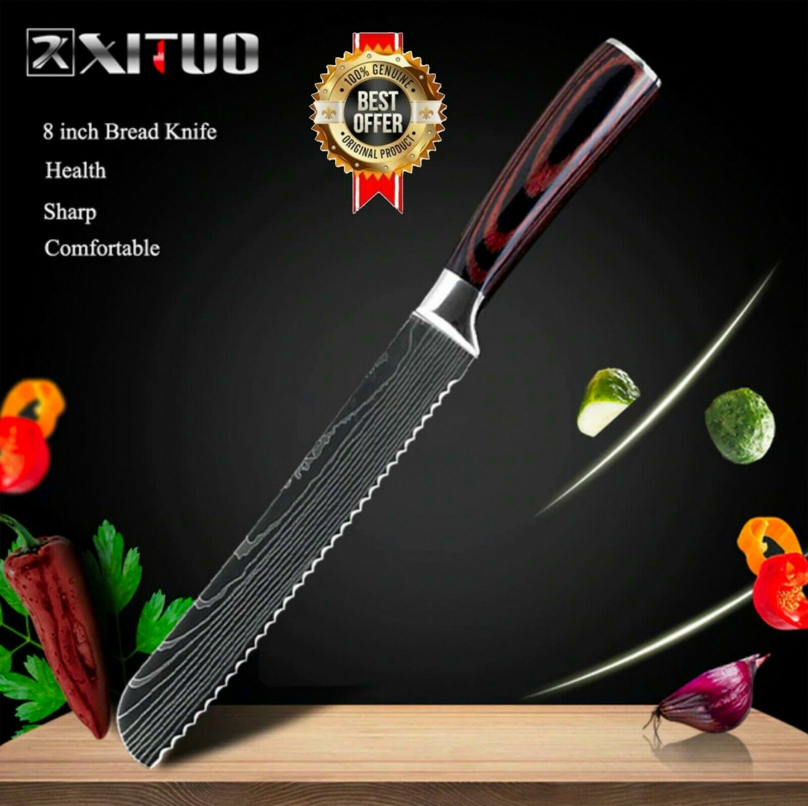 Model-2( 8in Bread Knife )