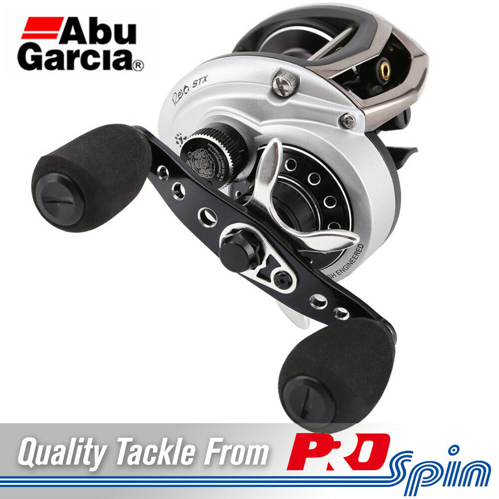 Abu Garcia Revo STX-HS Baitcaster Reels - High Speed 7.1 1 Gear Ratio
