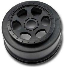 DE Racing Trinidad SC Wheels Associated SC8 SC8E 17mm Hex BLACK (DER-SCT-17B)