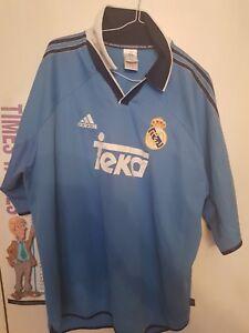 00564938d 1999 2000 Real Madrid Teka Adidas Football shirt supreme vintage XL ...