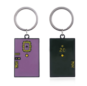 New-Friends-TV-Show-Monica-039-s-Door-Frame-Key-Ring-KeyChain-Cosplay-Key-ring-Gift