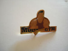 PINS RARE VINTAGE CLUB MULTI FORME GYM MUSCULATION BODYBUILDING wxc 4