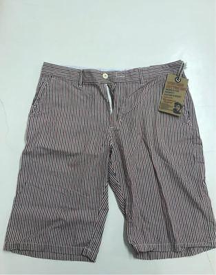 100% Vero Western Cotton Jeans E Co. Bermuda Pantaloncino Pinocchietto Righe Casual Uomo