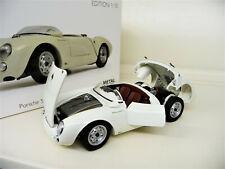 Schuco Porsche 550 A Spyder Edition 70 Jahre Porsche weiß 1:18 limitiert 1//777
