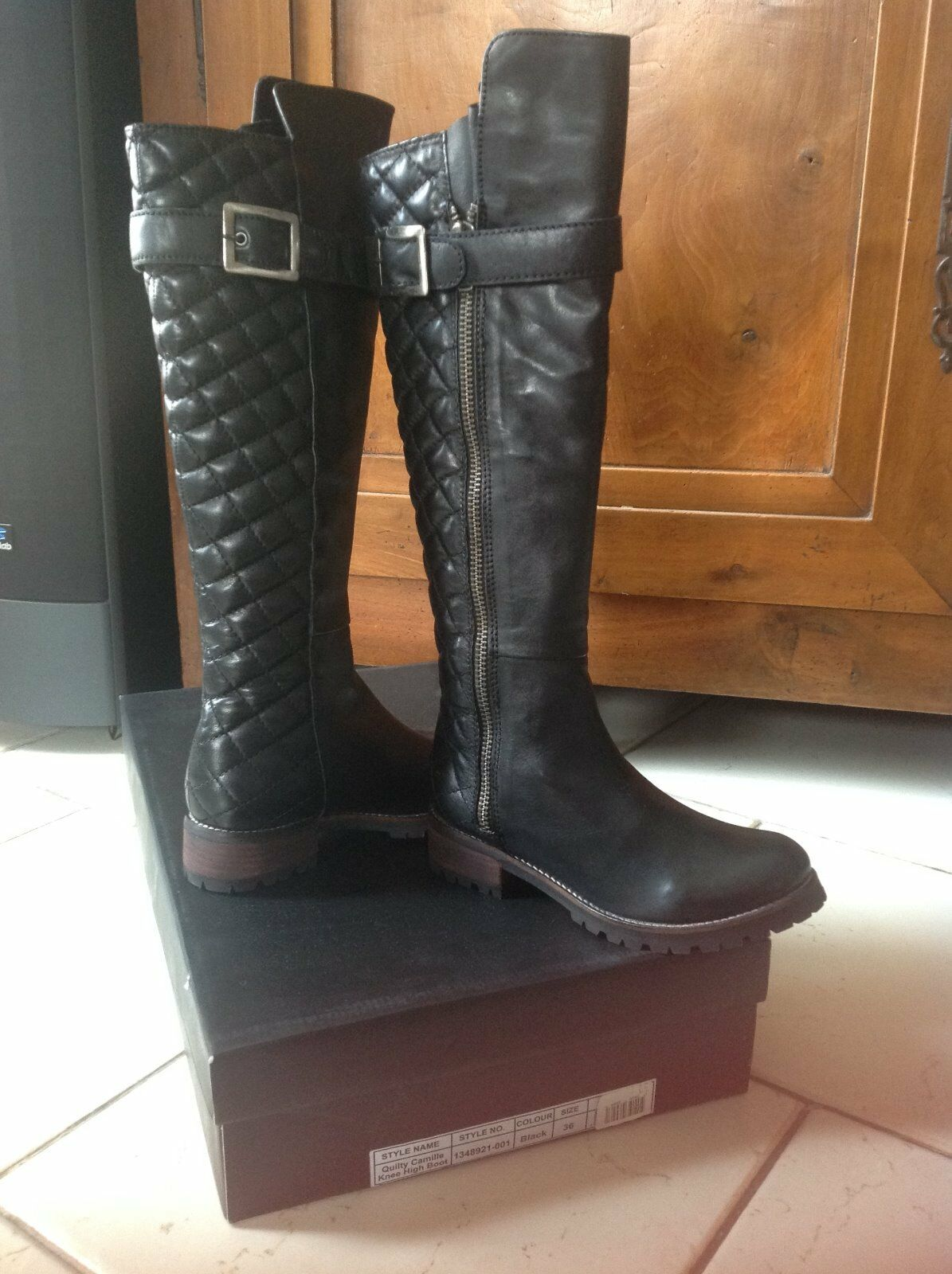 Bottes cuir friis and company