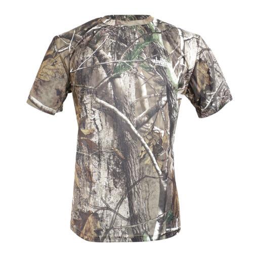 1 Pièces Hommes Manches Courtes T Shirt Hommes Grande et Haute T Shirt Camouflage