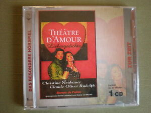 THEATRE D'AMOUR CD LIEBESGEDICHTE NEU OVP - Deutschland - THEATRE D'AMOUR CD LIEBESGEDICHTE NEU OVP - Deutschland