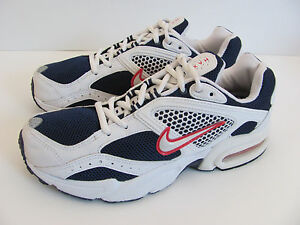 Nike 2003 Air Max Red White Blue Running Shoes Women