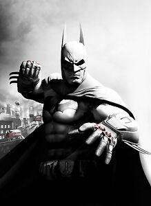 Lego Batman Giant Poster A0 A1 A2 A3 A4 Sizes