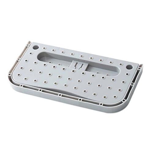 Kunststoff Schuhregal Schuhhalter Organizer Space Saver Lagerregal Grau