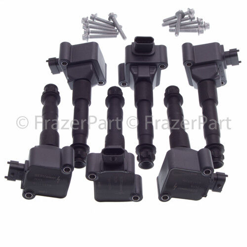 Porsche 986 987 Boxster Cayman (03-08) 996 997 (02-08) ignition coil set (x6)