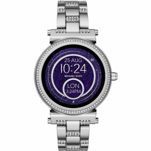 Michael Kors MKT5036 Access Sofie Woman's Watch Silver