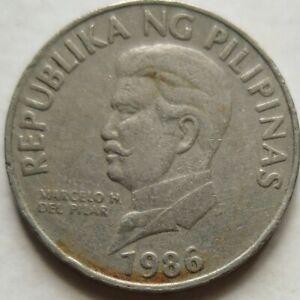 Philippines 1986 50 Sentimos coin