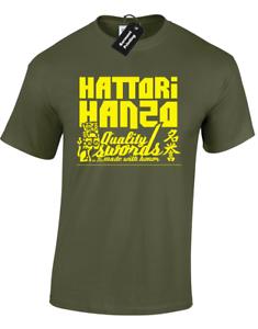 HATTORI HANZO MENS T-SHIRT FUNNY RETRO CLASSIC KILL BILL SAMURAI COOL DESIGN