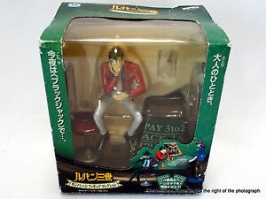 Used-Banpresto-Lupin-The-3rd-Third-Casino-Blackjack-Scene-Figure-Collection-2004