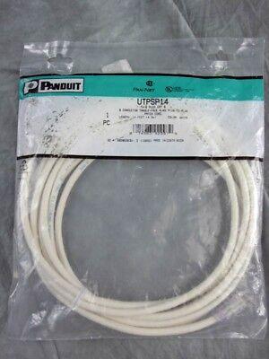 16FT PANDUIT UTPSPY Cat 6 RJ45 to RJ45 Green UTP PATCH CORDS Pack of 10