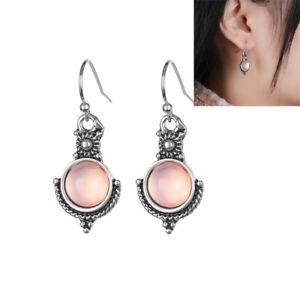 1Pair-Rainbow-Moonstone-Gemstone-Jewelry-925-Silver-Plated-Dangle-Earrings