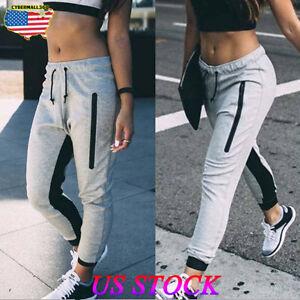 Womens-Ladies-Joggers-Tracksuit-Bottoms-Trousers-Slacks-Gym-Jogging-Sweat-Pants