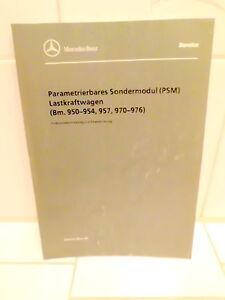 Mercedes-Benz-LKW-PSM-Parametrierbares-Sondermodul-Werkstattbuch