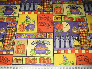 Patchwork-Quilt-Stoff-Halloween-Jeepers-Creepers-11-m