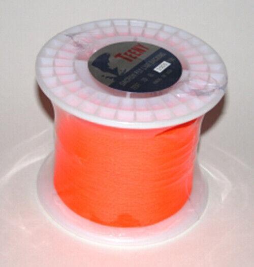 Jim Teen 30lb Backing 1000 yrd Spool New Fluorescent Orange