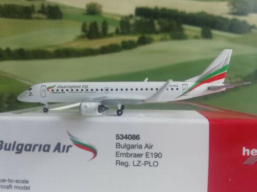 of-Wings Herpa Wings 1:500 534086 Bulgaria Air embraer e190 #world