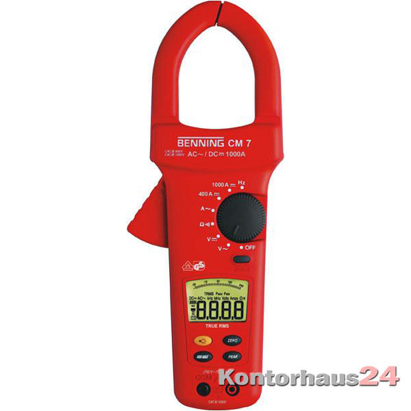 Benning: Digitale Stromzange Multimeter CM 7 +++NEU+++