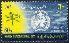 Egypt 1962 Meteorology/Weather Day/IMO/WMO/Measuring Equipment/Vane 1v (n42600)