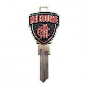 MELBOURNE-DEMONS-AFL-3D-COLLECTORS-House-Key-Blank-AU-SELLER