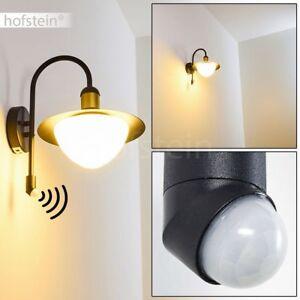 Applique extérieure Détecteur Lampe de jardin Lampe de véranda Lampe ...
