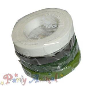 Hamilworth-Florist-Tape-27-Metre-Floral-Craft-Cake-Flower-Sugarcraft-12mm-6mm
