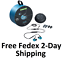 miniature 1 - New Shure AONIC 215 Blue Professional Sound Isolating Wired Earphones