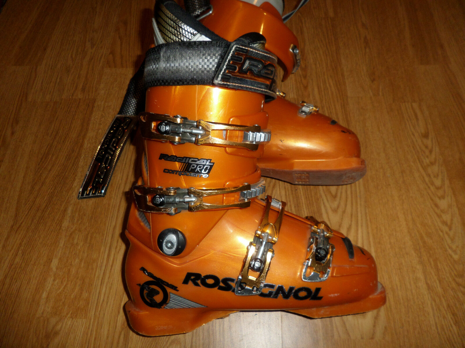 ROSSIGNOL RADICAL PRO COMPOSITE RACING SKI BOOTS MEN'S 8 - 8.5