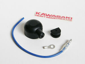 kawasaki oil pressure switch rubber dust cover wiring harness z1 image is loading kawasaki oil pressure switch rubber dust cover wiring