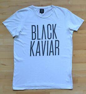 BLACK-KAVIAR-Logo-T-Shirt-Gr-XL-Top-Zustand
