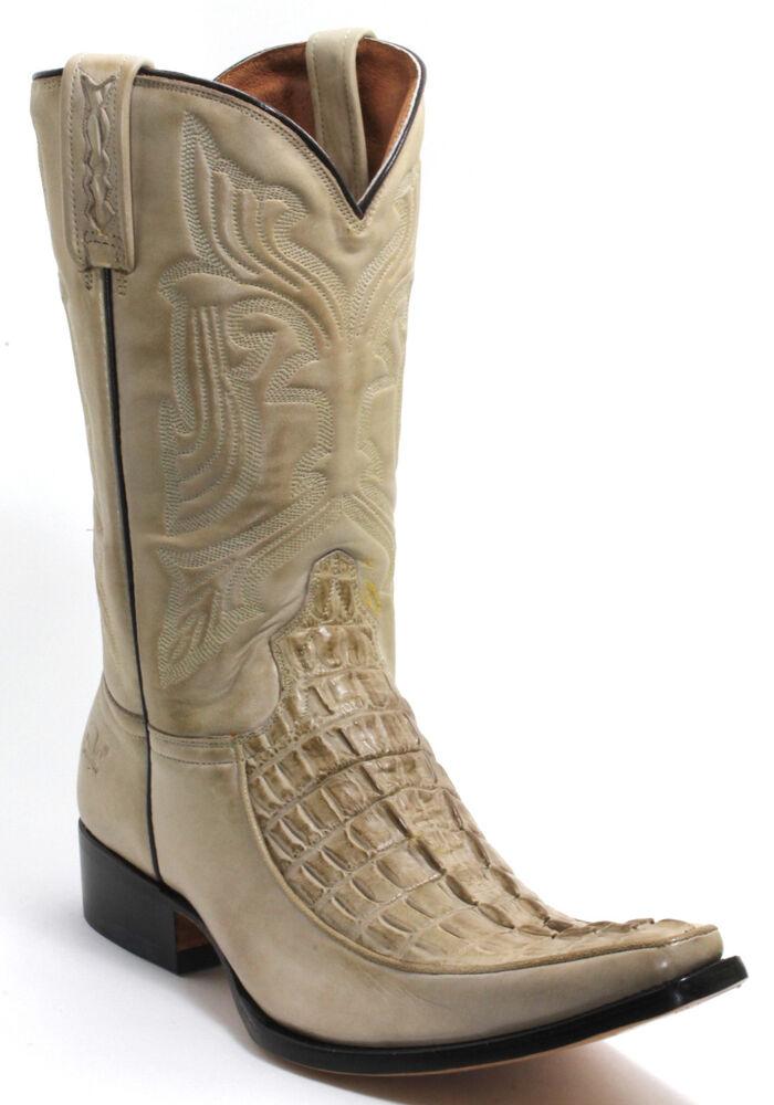 116 Bottes De Cowboy Western Bottes Texas Bottes Western Rancho Crocodile 45