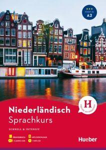 Niederlaendisch-Sprachkurs-fuer-Anfaenger-Buch-3-Audio-CDs-MP3-CD-MP3-Download