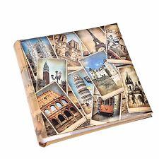 """Memories 200 Capacidad Deslizable álbum de fotos 4'' x 6"""" Con Zona Recuerdos"""