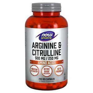 NOW-Foods-Arginine-amp-Citrulline-500mg-250mg-240-Veg-Capsules