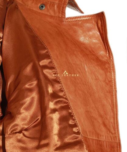 Isabel Tan Biker Style Designer Ladies Retro Real Lambskin Leather Jacket