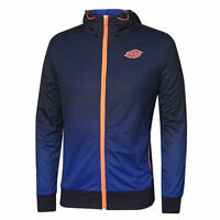 Lotto Men's Blue Fitted Hoodie