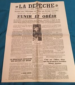 Journal-La-Depeche-Du-21-Octobre-1942