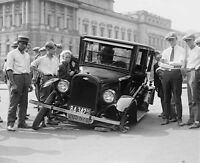 Having A Bad Day 1920's Car Wreck 14 X 11 Photo Print