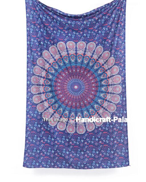 Indian Tapestry Wall Hanging Mandala Throw Hippie Gypsy Cover Bohemian Dorm Boho